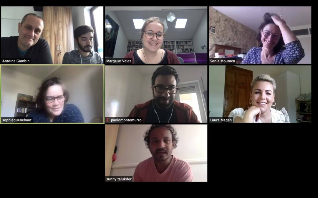 Kick-off Meeting Online started the project