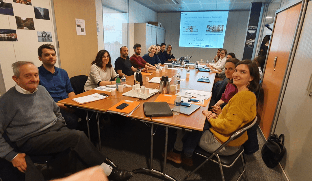 Meeting of Coordinators of new Strategic Partnerships for Youth at the Erasmus+ National Agency
